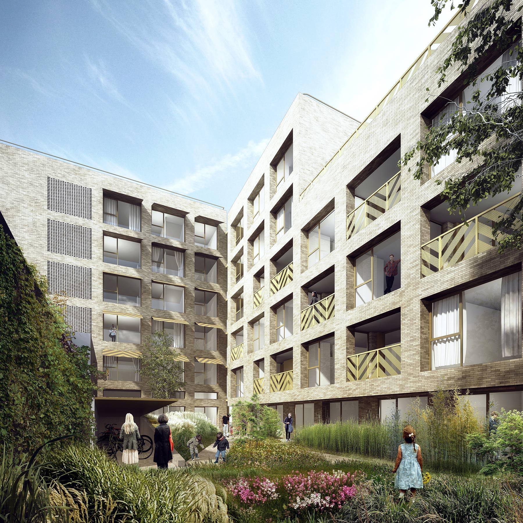 Log architectes projets architecture paris for Projet architecture paris